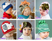 Girl band beanie babies - NEW Baby amour hats girls hat headband barrette headdress flower beanie hair pin clip band caps