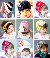 amour cream - Baby Beanie hats girls hats boys caps crochet headbands baby amour flower girl hats