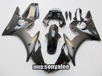 Wholesale For YZF R6 YZF R6 yzf600 YZFR6 black motorcycle fairing kit gift