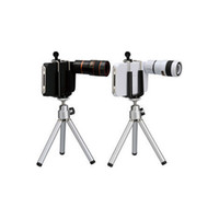 Wholesale Retail X Optical Zoom Telescope Lens with Tripod for iPhone G by CPAM