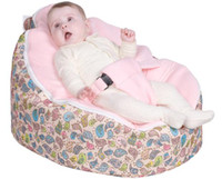 Wholesale Chirpy bird pink top baby bean bag chair doomoo beanbag sofa beds kid seat