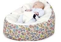 Wholesale Cosy secure bird base and pink top baby beanbag chair original new BIRDS design seat