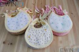 Wholesale Baby Bib Kids Bibs Infant Lunch Bibs Burp Cloths Towel Cotton Cute Soft NFS