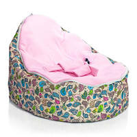 Wholesale Chirpy Pink Baby Seat bird style baby beanbag deluxe and new hotsell doomoo seat