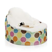Wholesale Serendipity Cream baby sleeping bag doomoo newborn baby beanbag seat