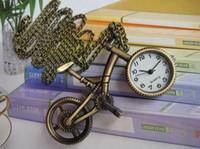 Fashion steampunk - Fashion Vintage Retro Steampunk Bike Pocket Watch Pendant Necklace Gife
