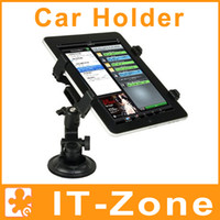 Wholesale Multi Direction Rotatable Car Holder Stand Mount Kit for Tablet PC iPad GPS Ebook