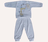 Wholesale 60pcs Baby Outfits Bamboo Fiber Kids Inflant Toddler Underwear Set Long Sleeve T shirt Pants B104