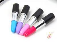 Wholesale Lipstick Pen Ballpoint Pen Portable