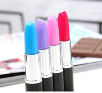 Wholesale Lipstick Pen Ballpoint Pen Portable e_shop2008