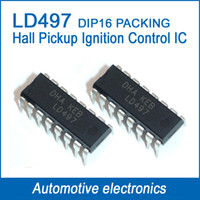 Wholesale Auto Hall Effect Pickup Ignition Control IC Integrated circuit IC LD497 L497 L497L DIP16
