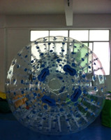 Wholesale inflatable zorb ball m m mm PVC air pump free of charge