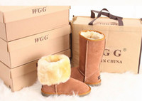 Wholesale 2012 Xmas gift Women s Classic tall WGG snow Boots warm leather boots US