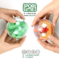 Wholesale Funny Basketball or Golf Game Toy Plastic Electronic Digital Table Desk Alarm Clock