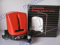 Wholesale 1pcs K45 New Level Self Leveling Cross Line Laser Level Infrared Front Line With Alarm