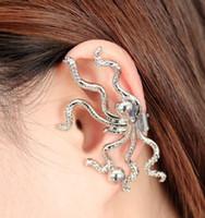 Octopus Ear Clip Earrings Europe Wind Restore Ancient Ways C...
