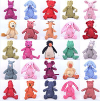 Wholesale Jellycat stuffed animals dolls plush toys cute and comfortable baby dolls toy styles mixed inch