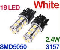 Wholesale 3157 White SMD LED Car Brake Stop Lamp Light Bulb AB1877