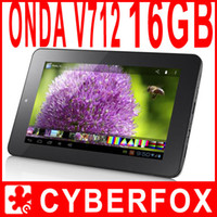 Wholesale 7 quot Onda V712 with Dual Core Ghz Android Tablet PC Dual Camera x800 IPS Screen WIFI G