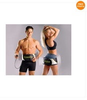 Acupuncture   2pcs free-shipping EMS Electric Vibrating Slimming Massage Weight loss Muscle toning Belt