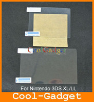 For NDS 3ds xl - Clear Screen Protector Film Guard Skin Cover for Nintendo DS XL LL MSP506