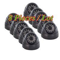 Wholesale Sony tvl CCD IR LEDs Dome color Security Camera mm S03UB