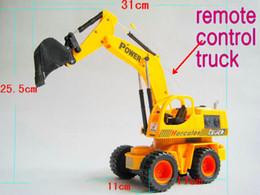 Wholesale 2012 NEW RC excavator Remote Control excavator RC toys excavator toy Remote Control Truck