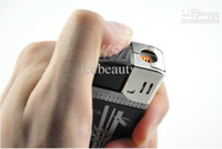 Wholesale 10pcs New Hot HD P Metal real Lighter Spy cam Hidden Camera Video Recorder DVR PC camera