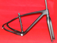 Wholesale 29ER K Full Carbon Matt MTB Mountain Bike Frame ER quot quot Fork FR