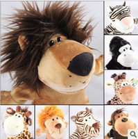 animal forest movie - New Nici Hand puppet forest animal hand puppet inch Tiger Monkey Lion Deer Puppets