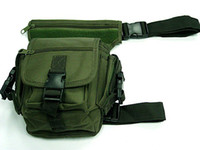 Wholesale US Airsoft Drop Leg Utility Waist Pouch Carrier Bag OD free ship
