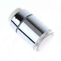 Wholesale 5pcs Mini Glow Temperature Sensor LED Faucet Water Stream Tap Colors Light Change free ship