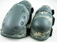 Wholesale Paintball Airsoft Knee and Elbow Pads ACU free ship
