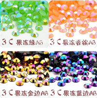 Wholesale 14 tangent plane mm Nail Art Rhinestones Glitters Acrylic Tips Decoration Manicure Wheel
