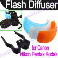pop up flash diffuser - 200pcs K49 Color Pop Up Flash Diffuser Cover For Canon Nikon DSLR Camera D5000 D3000 D700