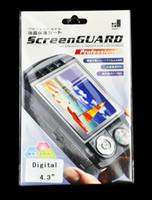camera screen protector - 100pcs Good Quality quot inch Front Clear Screen Protector protection For Digital Camera DC