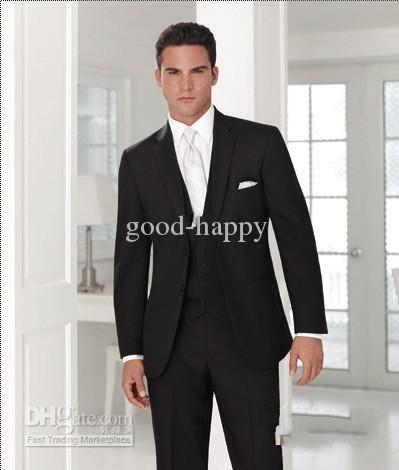 Groom Tuxedos Best Men's Wedding Dress Prom Clothing≪Clothes  ...
