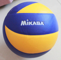 Wholesale MIKASA Volleyball PU Leather Soft Touch MVA300 Free needle net pocket by china post