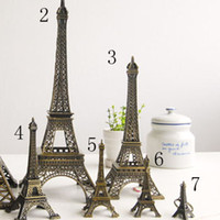Wholesale Displays Jewelry tower Display stand Eiffel tower metal decorations good Gift jewel holder shelf