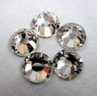 Wholesale crystal clear ss10 ss12 ss16 ss20 ss30 crystal rhinestone non hot fix rhinestone nail art rhinestone