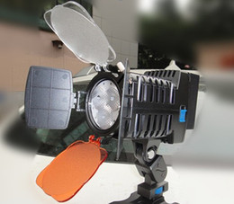 Wholesale LED LED Light for DV Camcorder Lamp Camera Lighting with NP F570 NP570 F570 camcorder battery