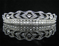 Band Rhinestone/Crystal  Wedding Bridal Dazzling Popular crystal veil tiara crown headband