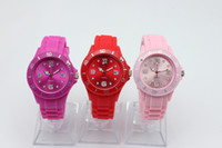 Wholesale 10pcs MM Jelly Silicon Watch Without Logo Silicone Watch children s kids wristwatch Quartz Watches