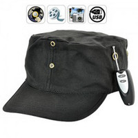 4G   4GB Mini Fashion Hidden Hat Camera With Remote - Hidden Pinhole Video Camera Spy camera hat