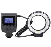 Wholesale RF D marco circular ring LED flash light for Canon Nikon RF550D RF from kakacola