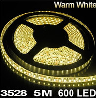 Wholesale free m warm white leds christmas lighting waterproof smd smd led strip light led ribbon