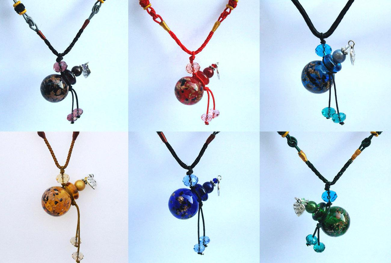 Wholesale Oil Bottle - Buy Essential Oil Bottle Necklace,Murano Glass