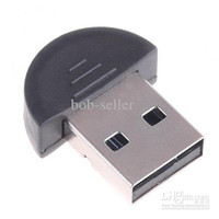 Wholesale 2 Mini USB Bluetooth Adapter V2 EDR USB Dongle Bluetooth specification v2 Compliant