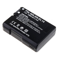 Wholesale High capacity mAh V Li ion Battery for Nikon EN EL14 Digital Camera Camcorder COOLPIX P7000