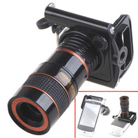 Universal   Universal 8x F1.1 Zoom Optical Digital Camera Telescope Monocular for Mobile Phone